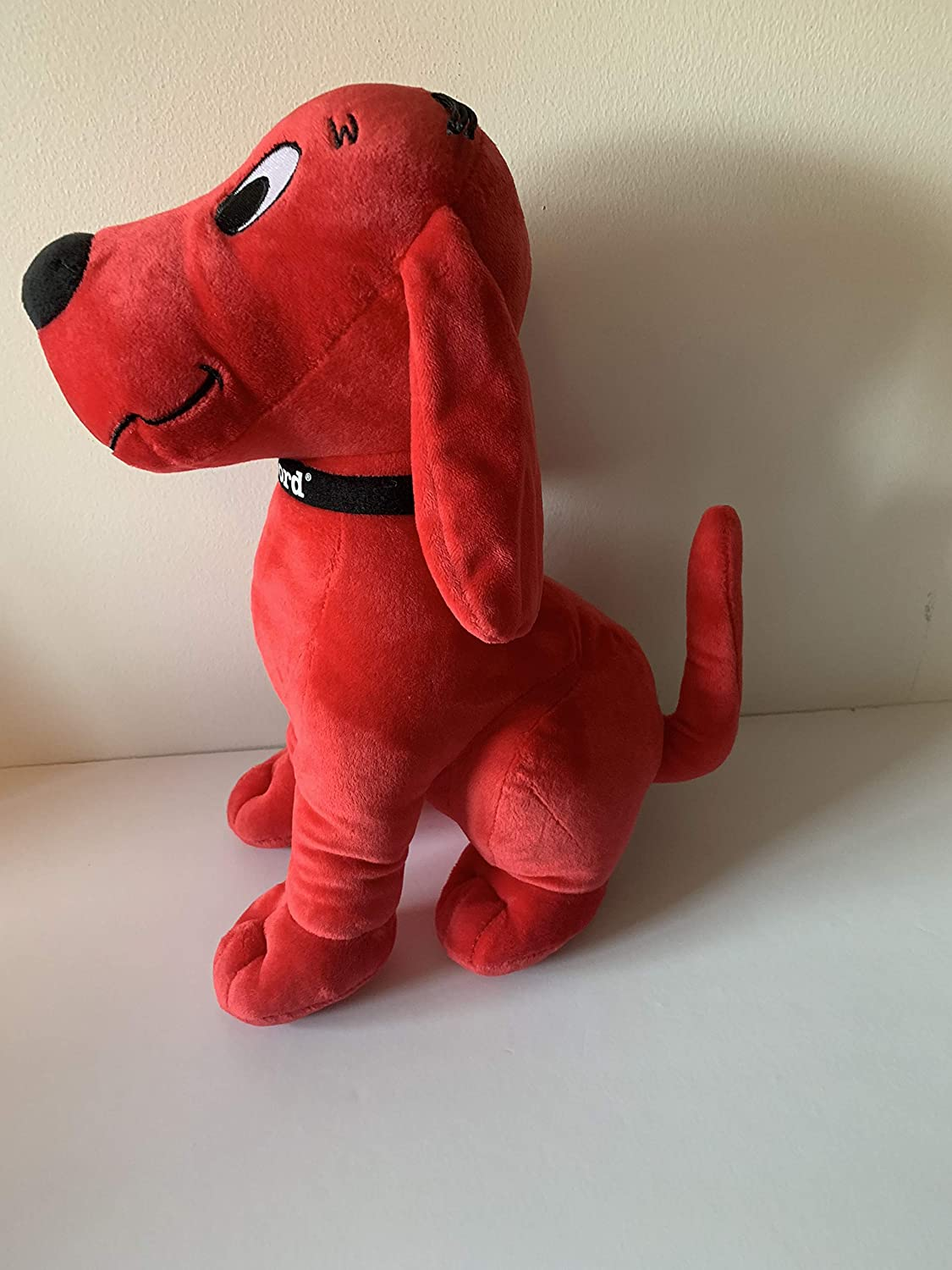 sensory toy 3 lbs Weighted stuffed animal Clifford the dog washable weighted buddy