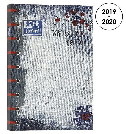 Oxford My xfrd agenda escolar (años 2017 - 2018 1 día por ...