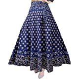 Silver Organisation Women's Cotton Skirt (SK_5183, Multicolor, Free Size)