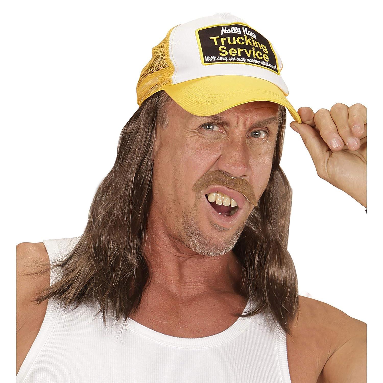 One size WIDMANN 05934/Trucker sombrero con pelo