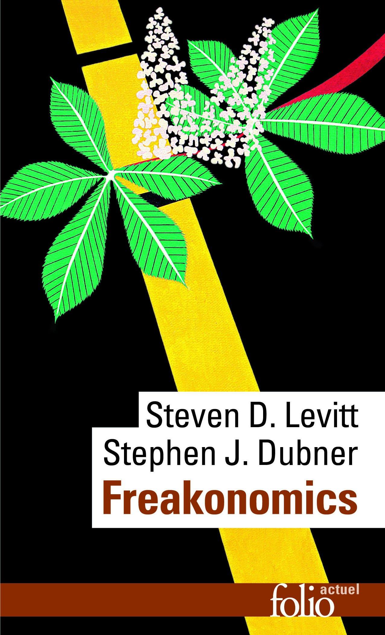 Couverture livre Freakonomics, Levitt & Dubner