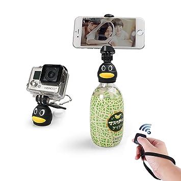 Fotopro Q3 - Soporte para Smartphone Universal, Color Negro y Amarillo: Amazon.es: Electrónica