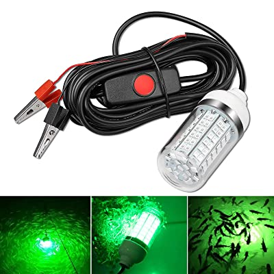 Underwater Deep Drop LED Fishes Attracting Lure LED Light Bait Fishing Lamp