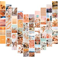 TABGACH Photo Wall Collage Kit, Collage Kit for Wall 50Pcs 4x6 inch Aesthetic Pictures, Aesthetic Room Decor, Gift for…