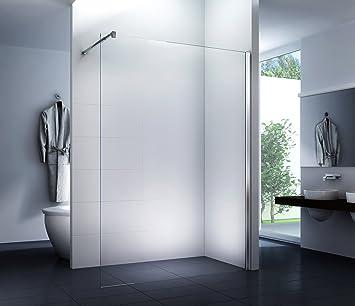 Mampara de ducha 160 x 200 cm Walk-In Cabina de ducha Ducha 10 mm Vidrio de seguridad: Amazon.es: Bricolaje y herramientas