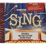 SING - Original Motion Picture Soundtrack CD+2 BONUS Tracks 2016 TARGET EXCLUSIVE