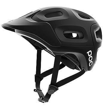 POC Trabec - Casco de ciclismo, Unisex, Adulto, Negro (Matt black)