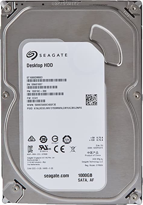 Seagate Barracuda ST1000DM003 - Disco duro interno de 1 TB (SATA ...