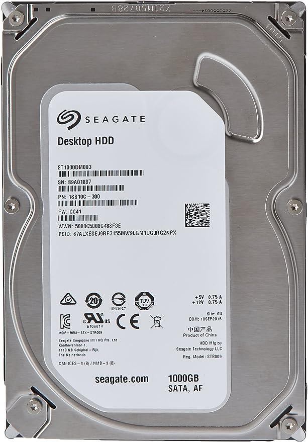 Seagate Desktop Hdd 1 Tb Interne Festplatte 3 5 Computer Zubehör