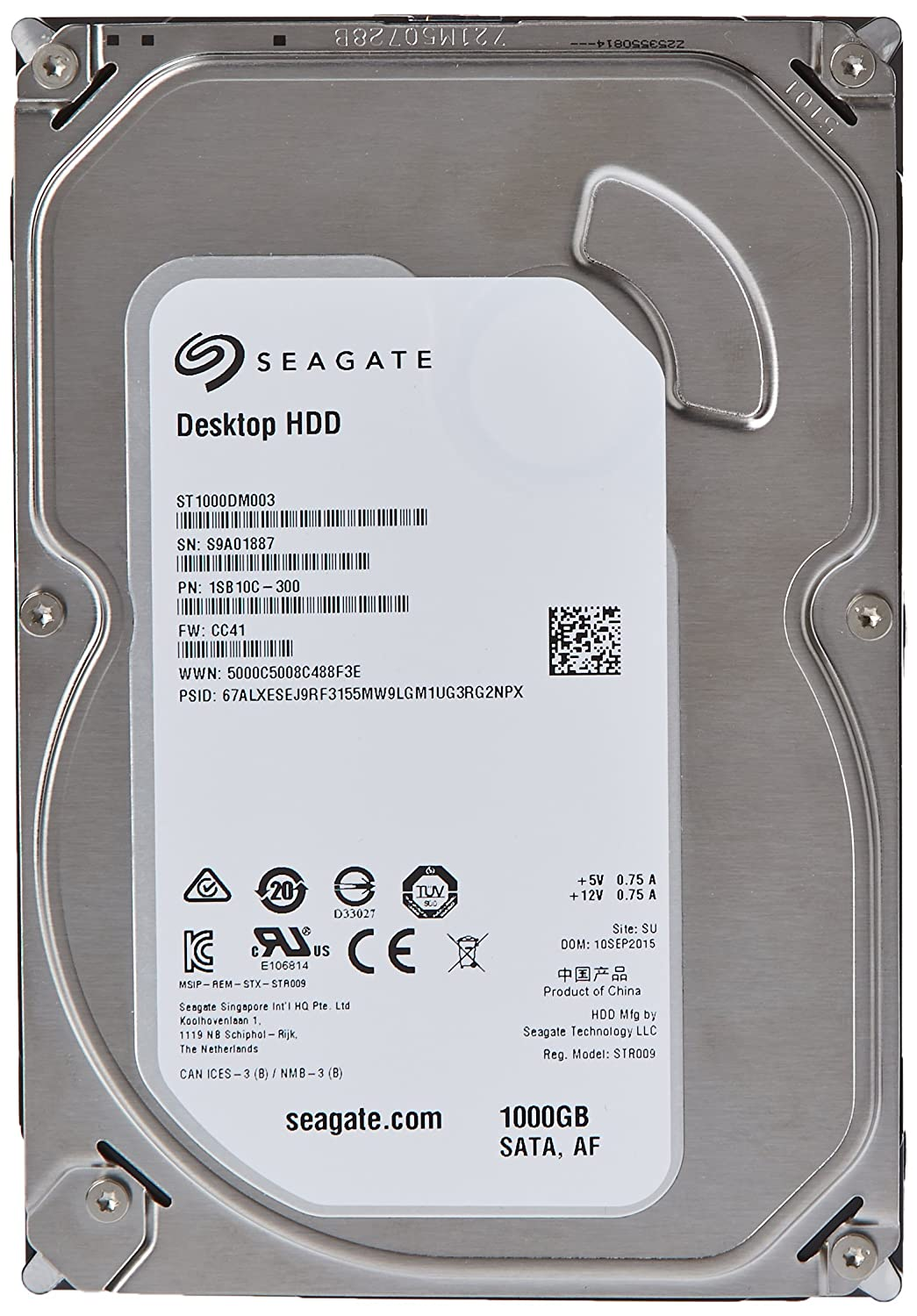 Amazon Com Old Model Seagate 1tb Desktop Hdd Sata 6gb S 64mb