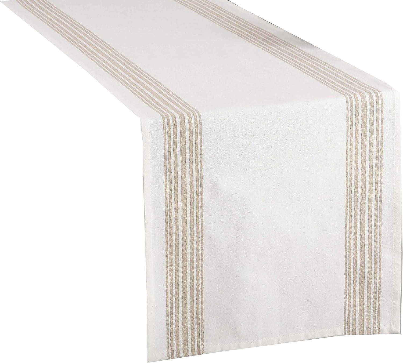 Two Tone Harlequin Design Table Runner 16x72 Table Runner Fennco Styles