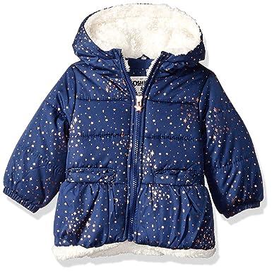 d50f40172 Amazon.com  OshKosh B Gosh Girls  Perfect Heavyweight Jacket Coat ...