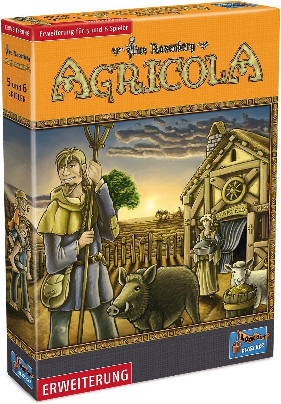 Lookout Games 22160086 – Agricola de tablero, 5 – 6 jugadores Ampliación (versión alemán): Amazon.es: Juguetes y juegos