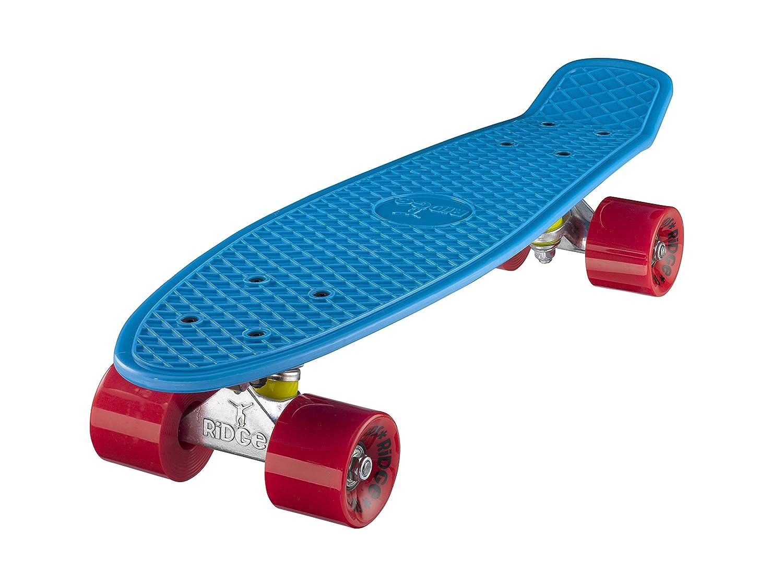 Ridge Retro Cruiser 22 Skateboard, Unisex, Azul/Rojo, 58 cm: Amazon.es: Deportes y aire libre