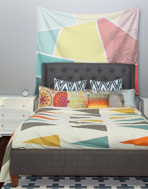 Kess InHouse MaJoBV Boys Rock Multicolor Cars Wall Tapestry 51 X 60