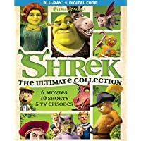 Shrek: The Ultimate Collection Blu-ray + Digital