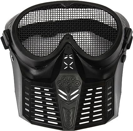 masque facial en noir