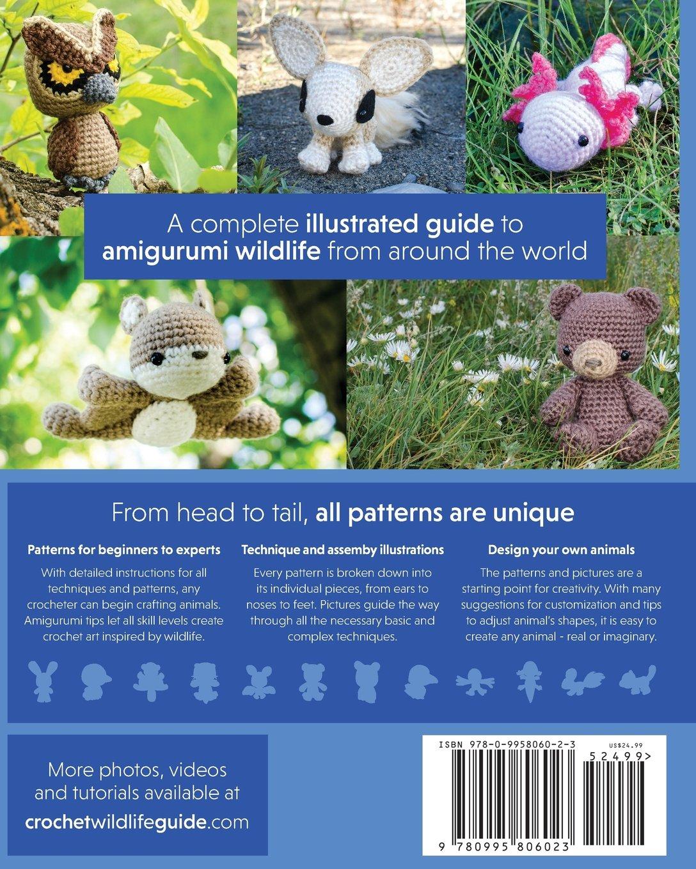 Amazon.com: Crochet Amigurumi Animal Patterns Book: The Beginner's ...   1360x1088