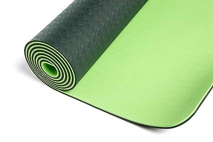 Amazon.com: Colchoneta para yoga DynActive 1/4 pulgadas ...