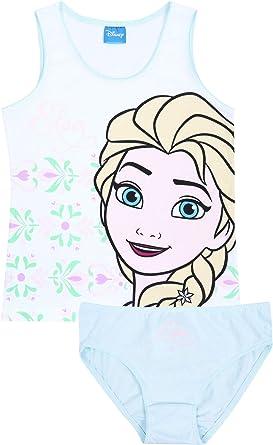 Conjunto de ropa interior para niña, color blanco y verde ...