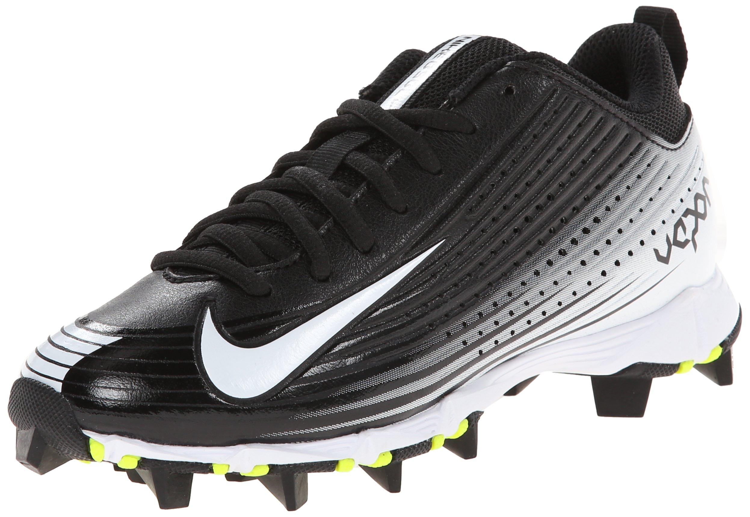 Nike Boy's Vapor Keystone 2 Low (GS) Baseball Cleat Black/White Size 5.5 M US