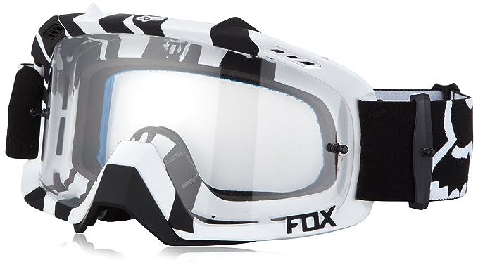 Fox Motocross MX Gafas - Air Defensa - Cebra - Blanco y ...
