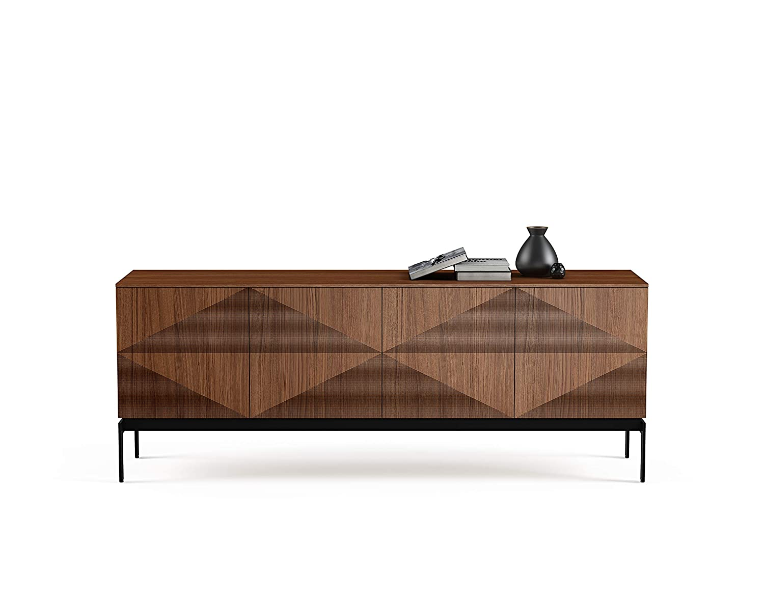 Amazon Com Bdi Furniture 8859 Wl Zona Credenza Natural Walnut