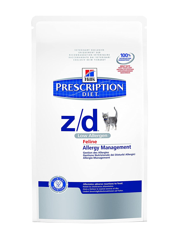 Hills VET Diet Feline z/d Low Allergen, 3er Pack (3 x 2 kg)