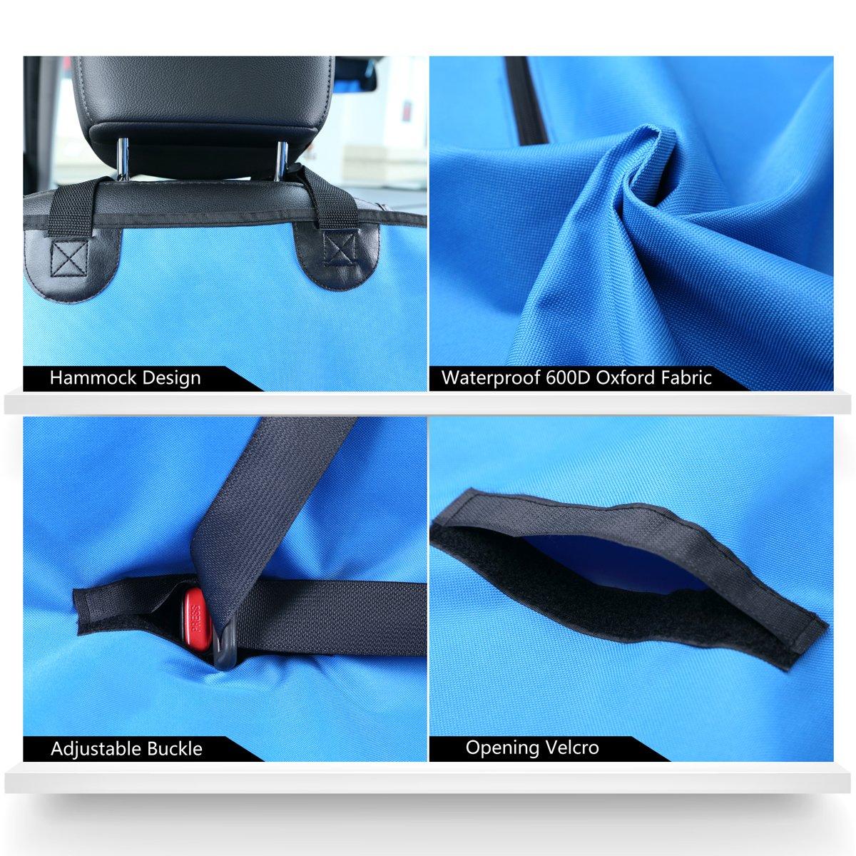 Deepa Pet Seat Cover for Car Seats - Hammock