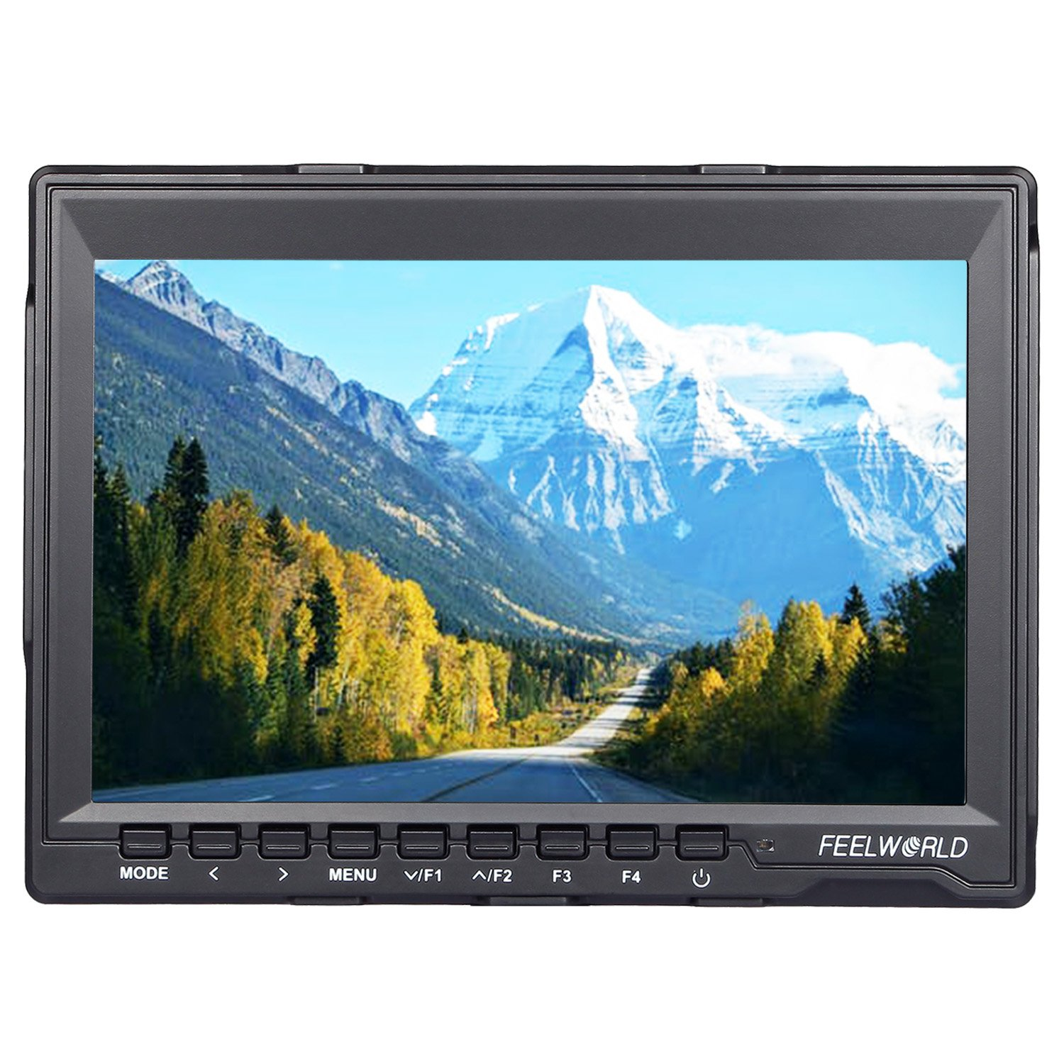 FEELWORLD FW 759 7 inch HD 1280x800 IPS On Camera Field monitors 16:10 or 4:3 Adjustable Ratio 800:1 Contrast Camera HDMI monitor for Cannon,Sony,FPV monitors etc by FEELWORLD