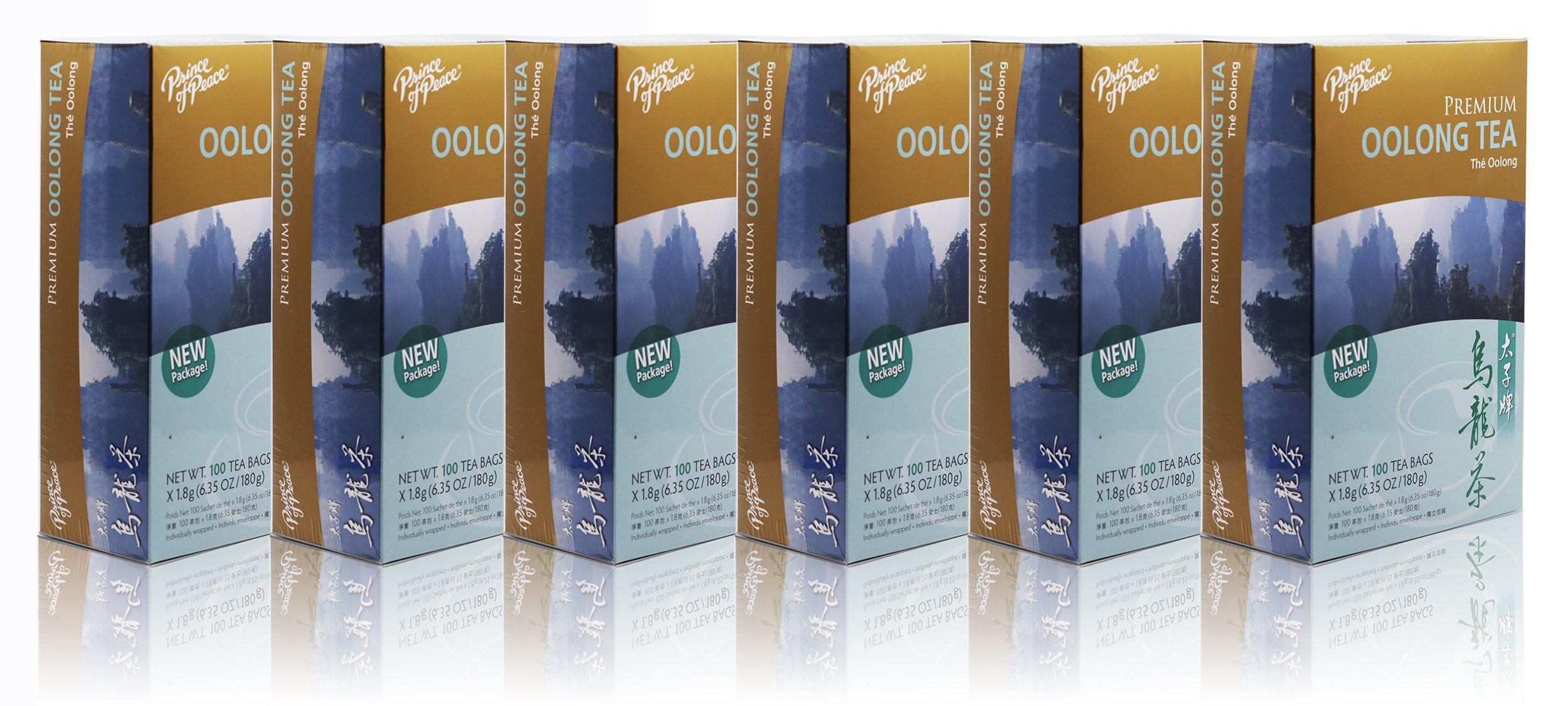Prince Of Peace Oolong Tea-100 Tea Bags net wt. 6.35oz (180g) (6)