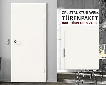 Cpl Zimmerturen Paket Struktur Weiss 8 Elemente Turblatt Inkl