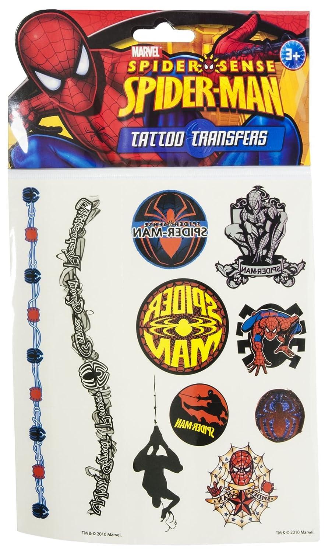 Spider Sense Spiderman Tattoos Pegatinas: Amazon.es: Juguetes y juegos