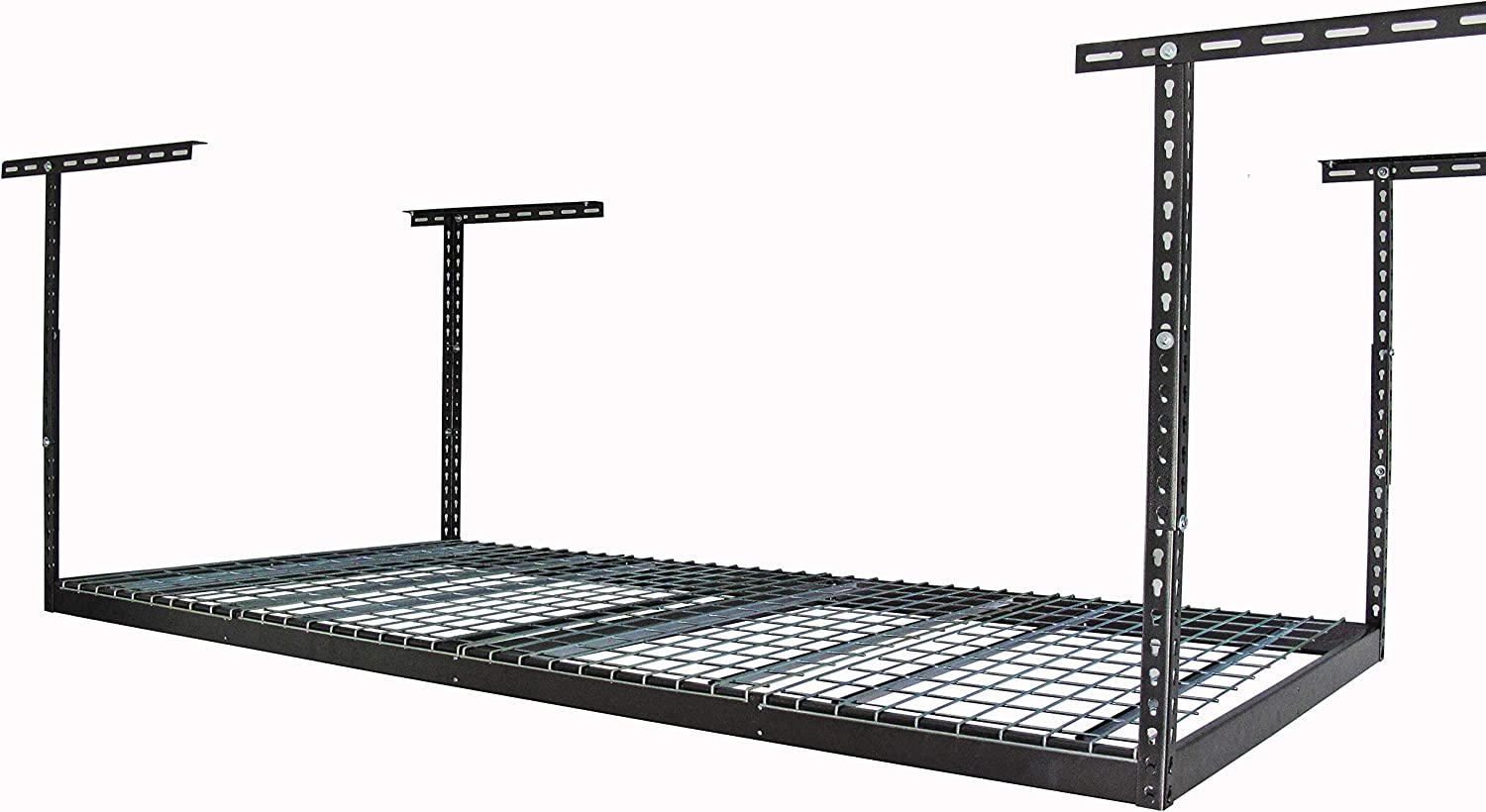 MonsterRax 4x8 Overhead Rack - Adjustable Ceiling Mounted Rack