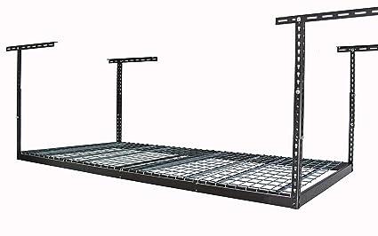 Amazon Com Monsterrax 4x8 Overhead Garage Storage Rack Heavy Duty