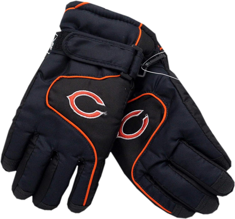 Kids Chicago Bears Winter Gloves 4-7
