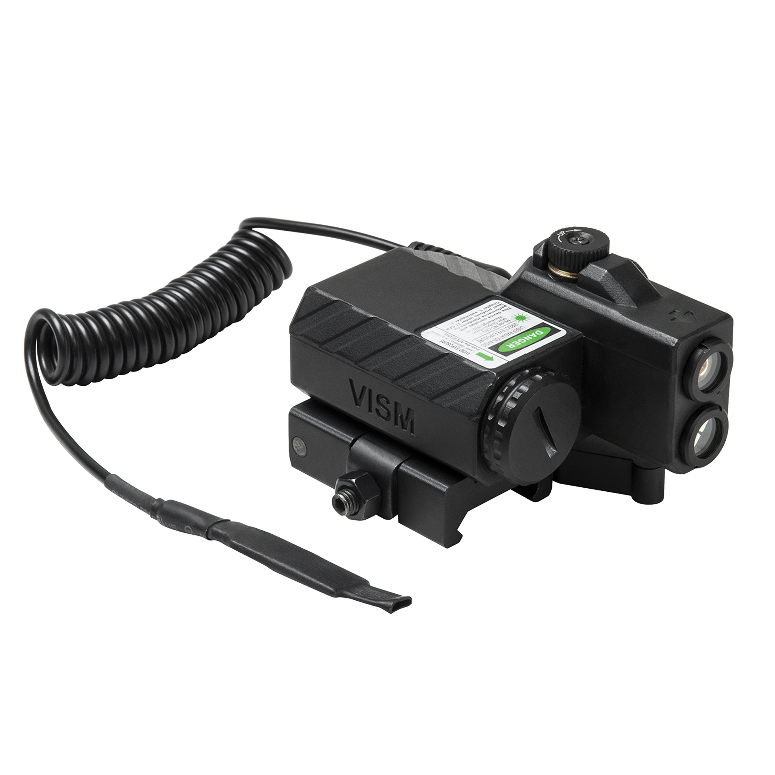 NcSTAR VLGSNVQRB Offset Green Laser Designator with Navigation LEDs, Black by NcSTAR (Image #1)