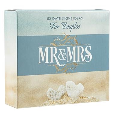 Mr & Mrs Date Night Idea Cards