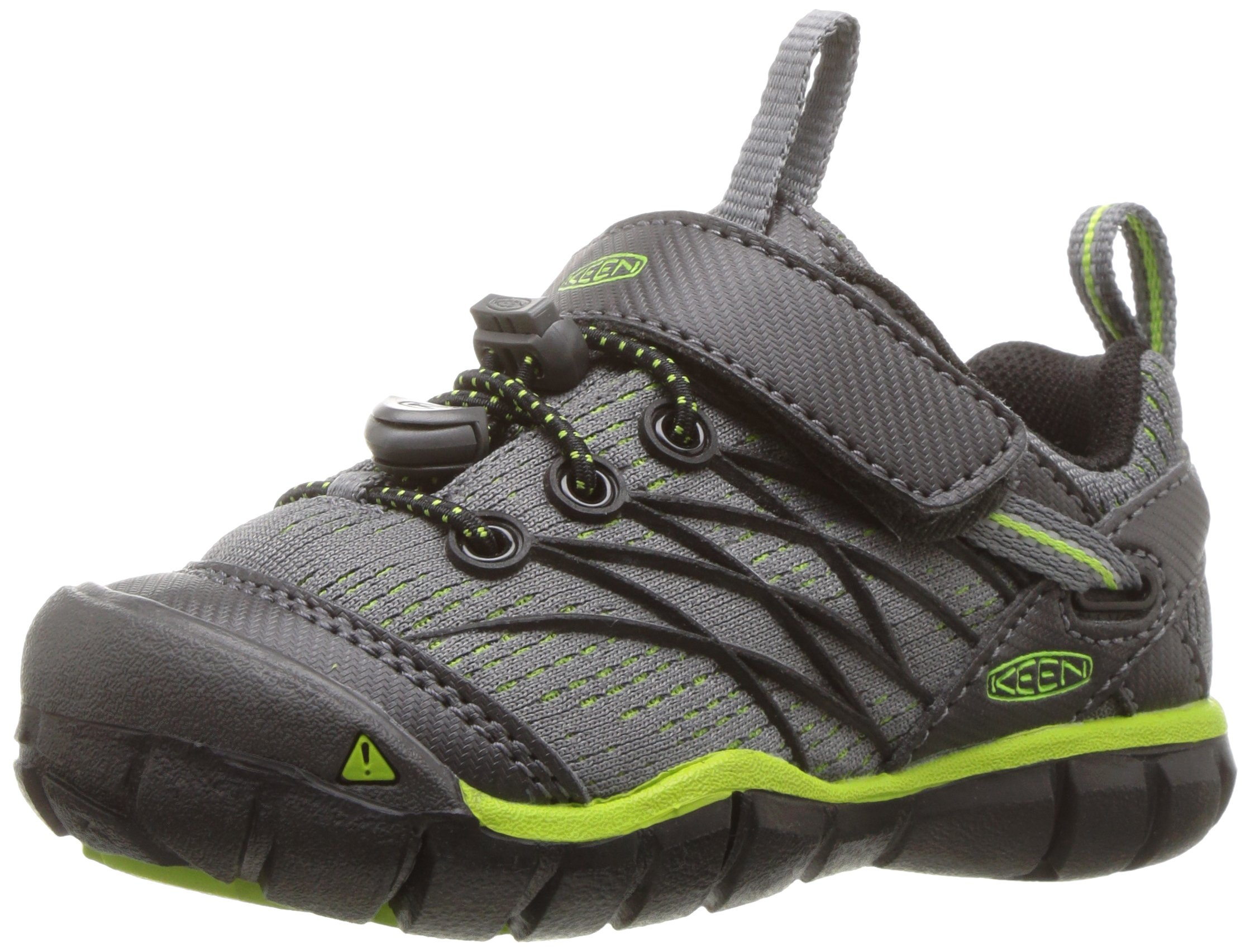KEEN Chandler CNX Hiking Shoe, Magnet/Greenery, 5 M US by KEEN