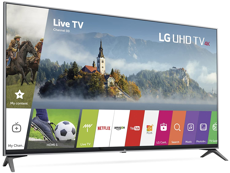 f56cf1dcb Amazon.com  LG Electronics 55UJ7700 55-Inch 4K Ultra HD Smart LED TV (2017  Model)  Electronics