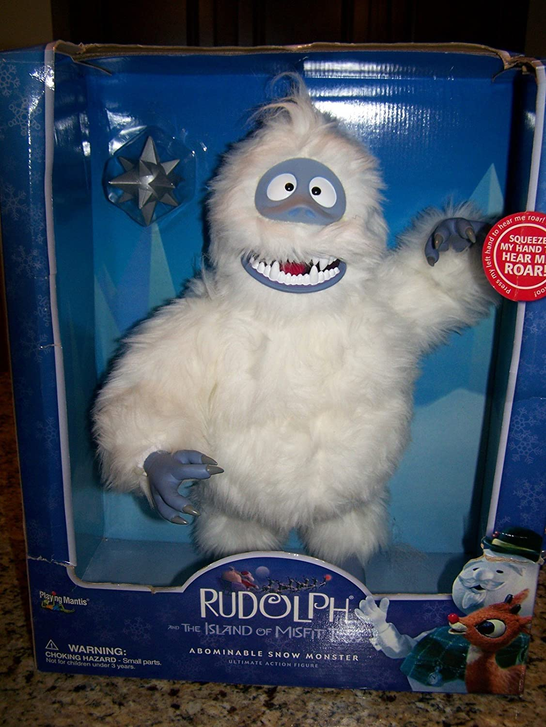 amazon com rudolph and the island of misfit toys abominable snow
