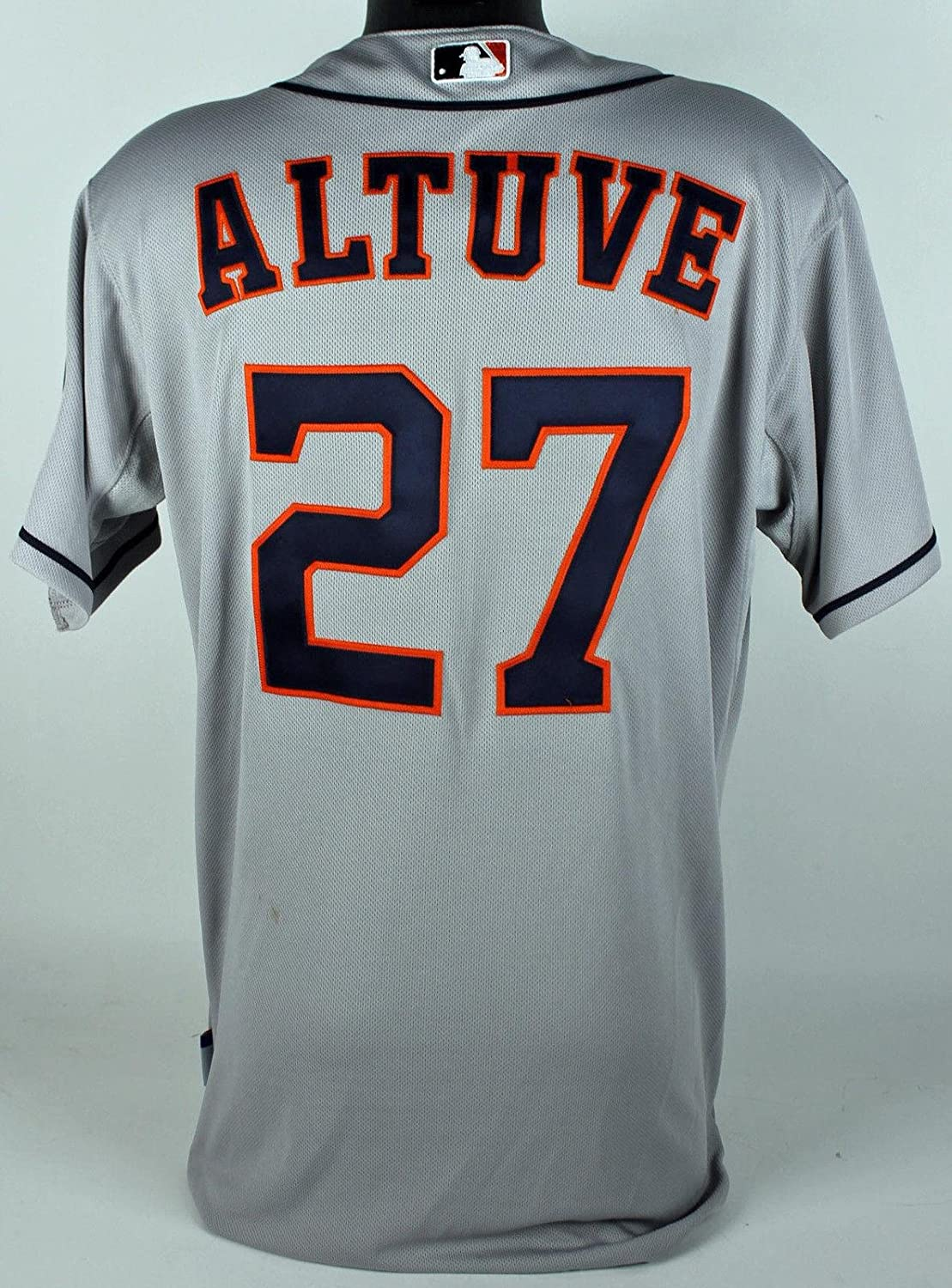 cheap for discount e0852 f066e cheap Astros Jose Altuve Game Used Grey Road Majestic Jersey ...