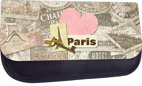 34af4748a6 Parisian Eiffel Tower Paris Themed Key Heart and Lock Print Design - Girls  5 quot  x