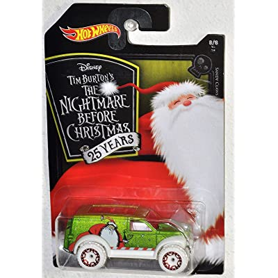 Hot Wheels 2020 Nightmare Before Christmas 25th Sandy Claws - Power Panel: Toys & Games [5Bkhe1105973]