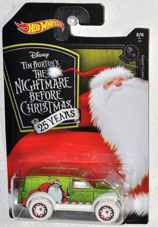 Amazon.com: Hot Wheels 2018 Nightmare Before Christmas 25th Sandy ...