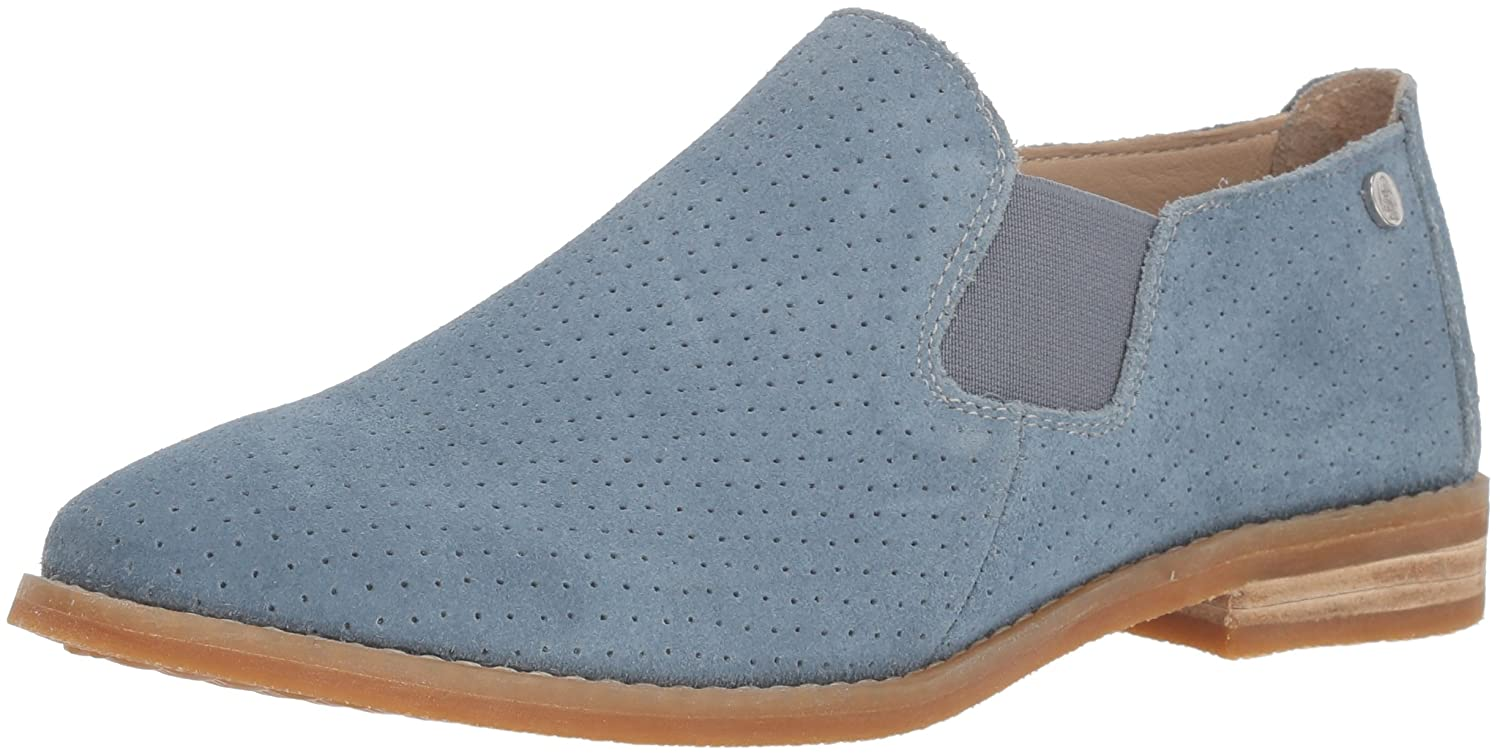 Hush Puppies Women's Analise Clever Flat B0748MHV4R 5.5 B(M) US|Vintage Indigo