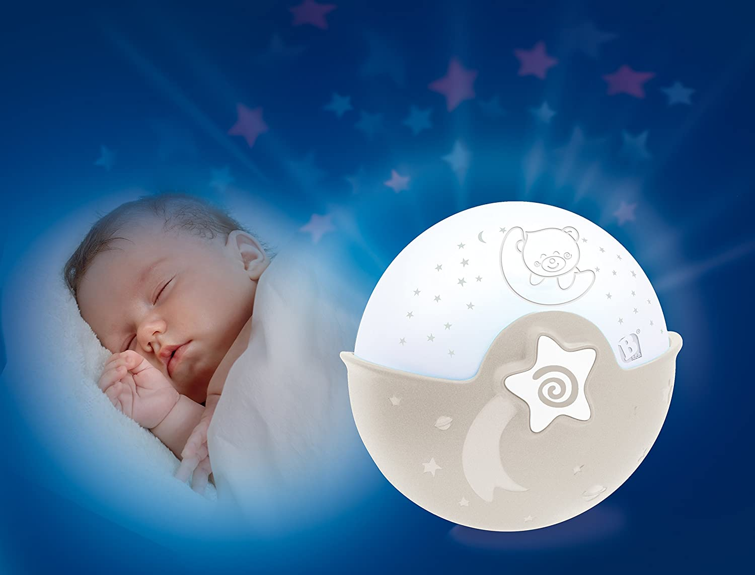 Licht Projector Baby : Infantino soothing light & projector grau: amazon.de: beleuchtung