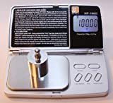Jennings JScale HP-100X Gram Precision Digital Pocket Scale 100g x 0.01g with 100 Gram Calibration Weight by Jennings Scale Company [並行輸入品]