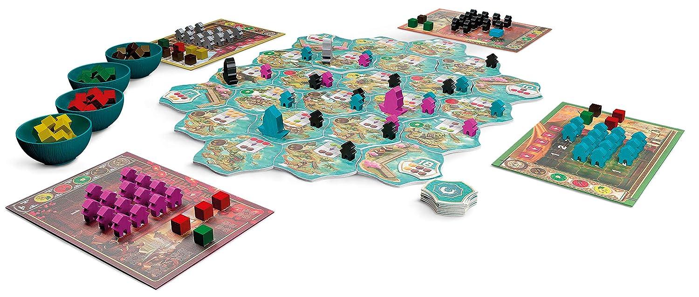 Asmodee Italia Century, Maravillas Oriental – Juego de Mesa, Color ...