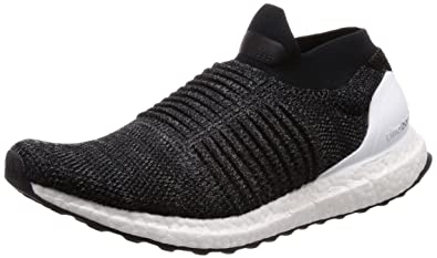 Amazon Com Adidas Ultraboost Laceless Bb6140 Color Black